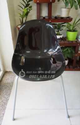 Ghế nhựa PP chân sắt sơn tĩnh điện GDT03 - Ghế cafe nhựa đúc cao cấp - Ghế nhựa nhập khẩu giá rẻ