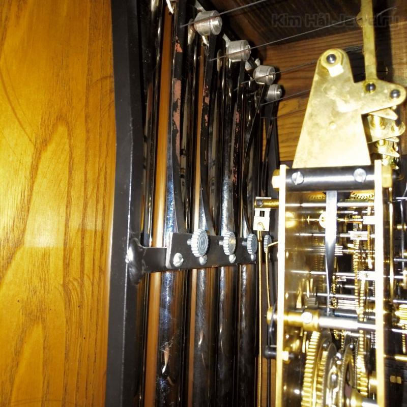 Đồng hồ tủ 5 ống sáo Colonial USA