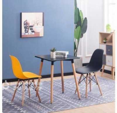 Bộ bàn vuông, Combo bàn ghế phòng khách, bàn ghế phòng ăn căn hộ cao cấp