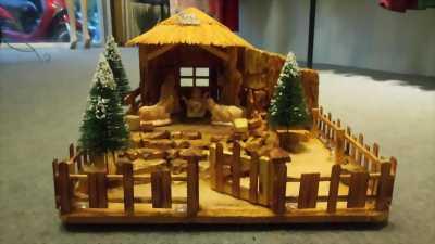 Hang đá gỗ handmade!! GIÁ SIÊU RẺ