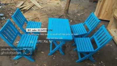 Xưởng đóng, cung cấp bàn ghế cho quán cà phê, trà sữa, quán ăn,..Bình Dương, HCM, ĐÔng Nai,lân cận.