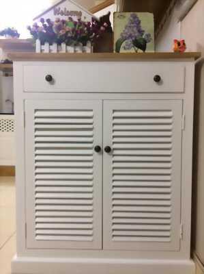 Tủ giày gỗ sồi 2 cánh cửa 85cm - EUF 085