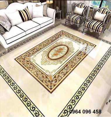 gạch thảm - thảm gạch - gạch thảm trang trí phòng khách