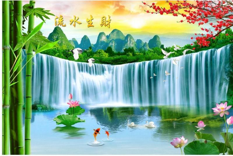 tranh gạch 3d phong cảnh TL093