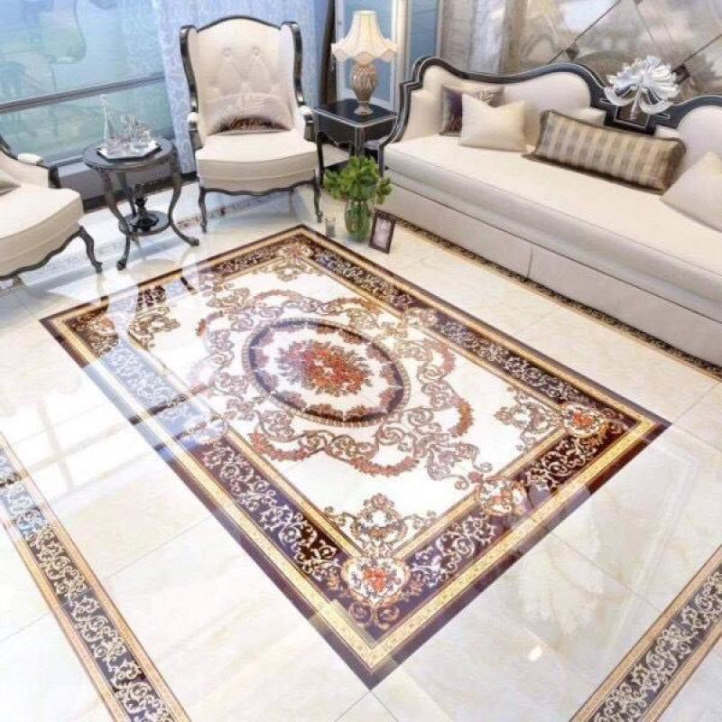 gạch thảm lát phòng khách