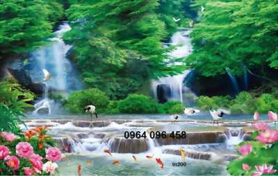 tranh phong cảnh làng quê