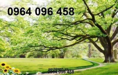 tranh gạch 3d cây cổ thụ