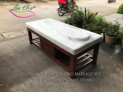 giường spa khung gôx giá rẻ tại cửa lò, nghệ an.