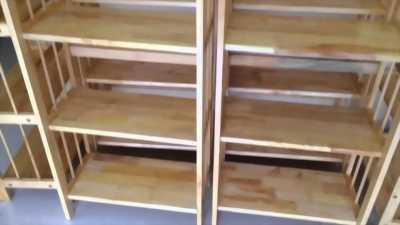 Bán lại kệ gỗ 5 tầng( gỗ 100%)