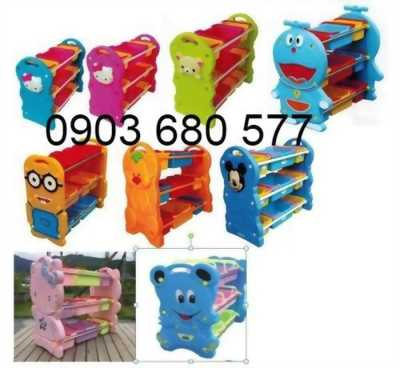 Nơi bán kệ nhựa mầm non dành cho trẻ em