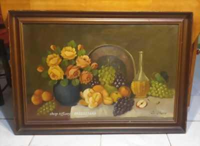 Giao lưu Tranh vẽ sơn dầu tuyệt đẹp (tất cả hàng này mang về từ Pháp).