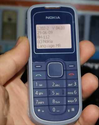 Nokia phổ thông 1202 Trắng