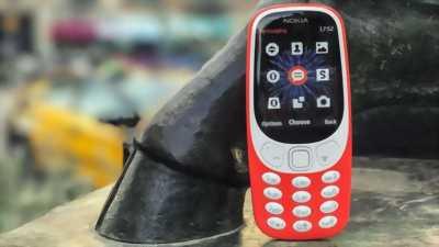 Nokia phổ thông 3310 < 8GB đỏ còn bảo hành huyện phú giáo