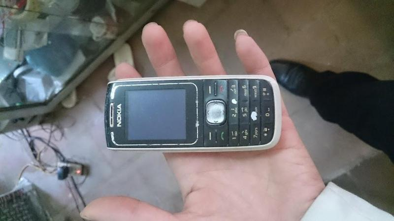 Nokia phổ thông dòng khác đen 1650