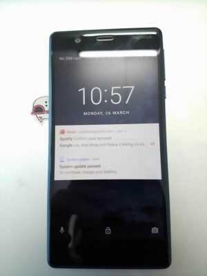 Nokia 3 chạy Androi nứt kính không ảnh hưởng gì huyện xuân lộc