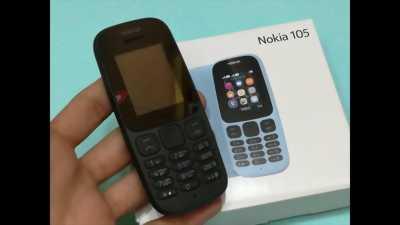 Nokia 105 Bản 2Sim đời 2017 zin nghiêm chỉnh nữ xài quận 1
