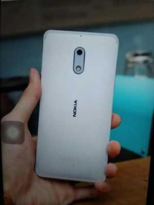Nokia 6 màu bạc, bh 11,5th tại tgdd