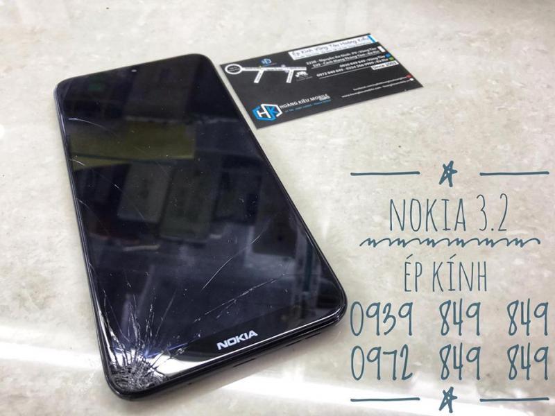 Nokia 3.2 Ép Kính Vũng Tàu Uy Tín Chất Lượng