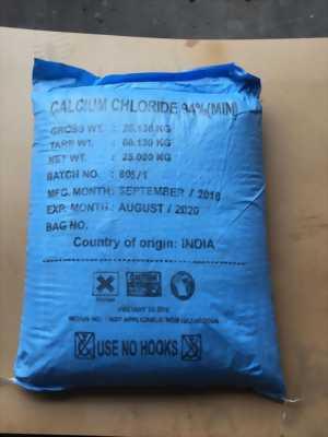 Cung cấp calcium chloride, CaCl2 dùng trong thủy sản, giá tốt