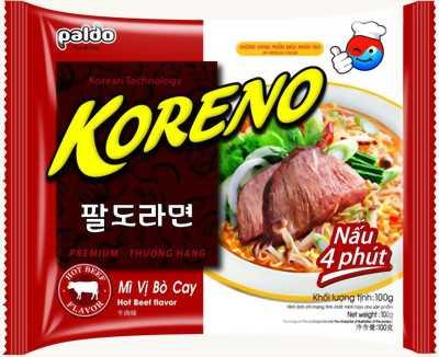 Nhận bán sỉ và lẻ mỳ cay Koreno Hàn Quốc