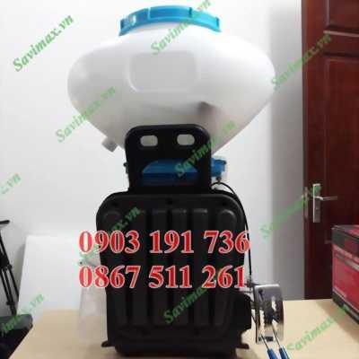 Máy phun vôi bột KCT 3wf 3 chức năng, Phun vôi bột, phun thuốc khử trùng, xạ lúa.. giá rẻ tại Vĩnh Phúc