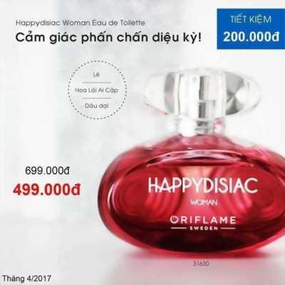 Nước Hoa Happydisiac Woman Eau De Toilette