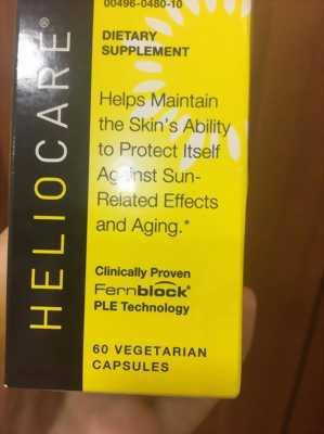 Viên uống chống nắng HELIO CARE