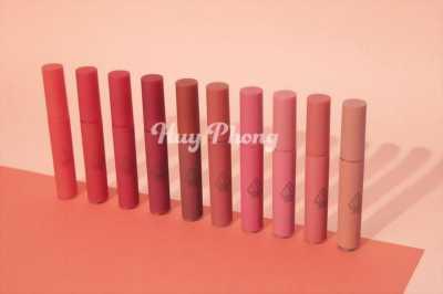 Son kem lì 3CE Velvet Lip Tint chính hãng