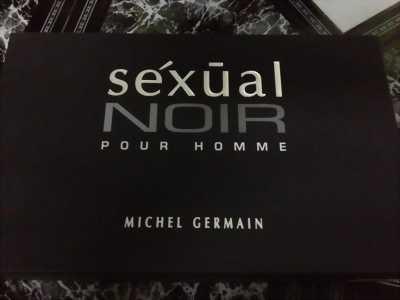 NƯỚC HOA NAM CAO CẤP HIỆU SEXUAL NOIR