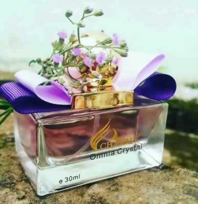 Nước Hoa Nữ Charme Omnia Crystal Tặng Kèm Son Charme