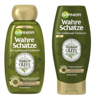 Bộ gội xả Garnier hương Olive dành cho tóc rất khô và hư tổn