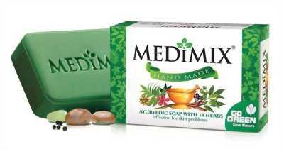 Xà phòng trị mụn cơ thể Medimix 18 thảo mộc