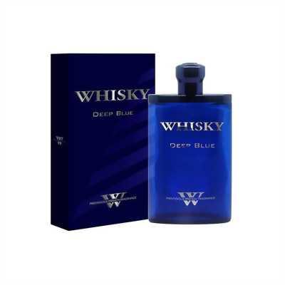 Nước hoa whisky deep blue chính hãng