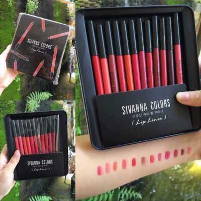 Set son bút chì 12 màu xách tay Thái Lan