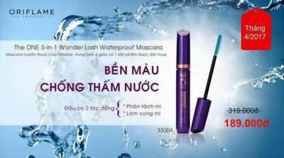 Mascara 5 in 1 không thấm nước