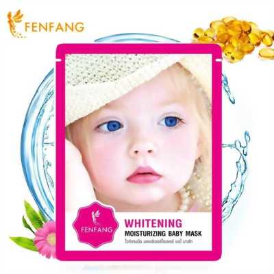 Mặt nạ whitening Baby Mask 2 In 1