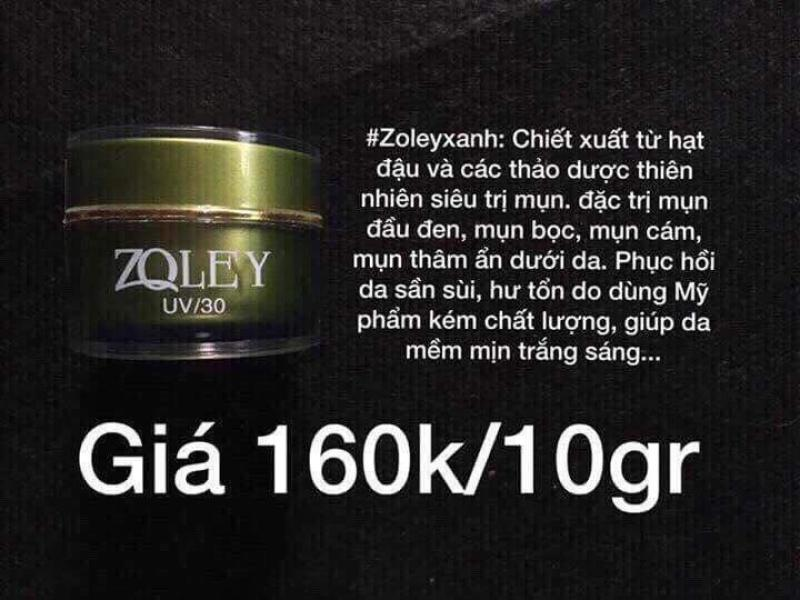 Mỹ Phẩm Zoley Whitening Face Cream
