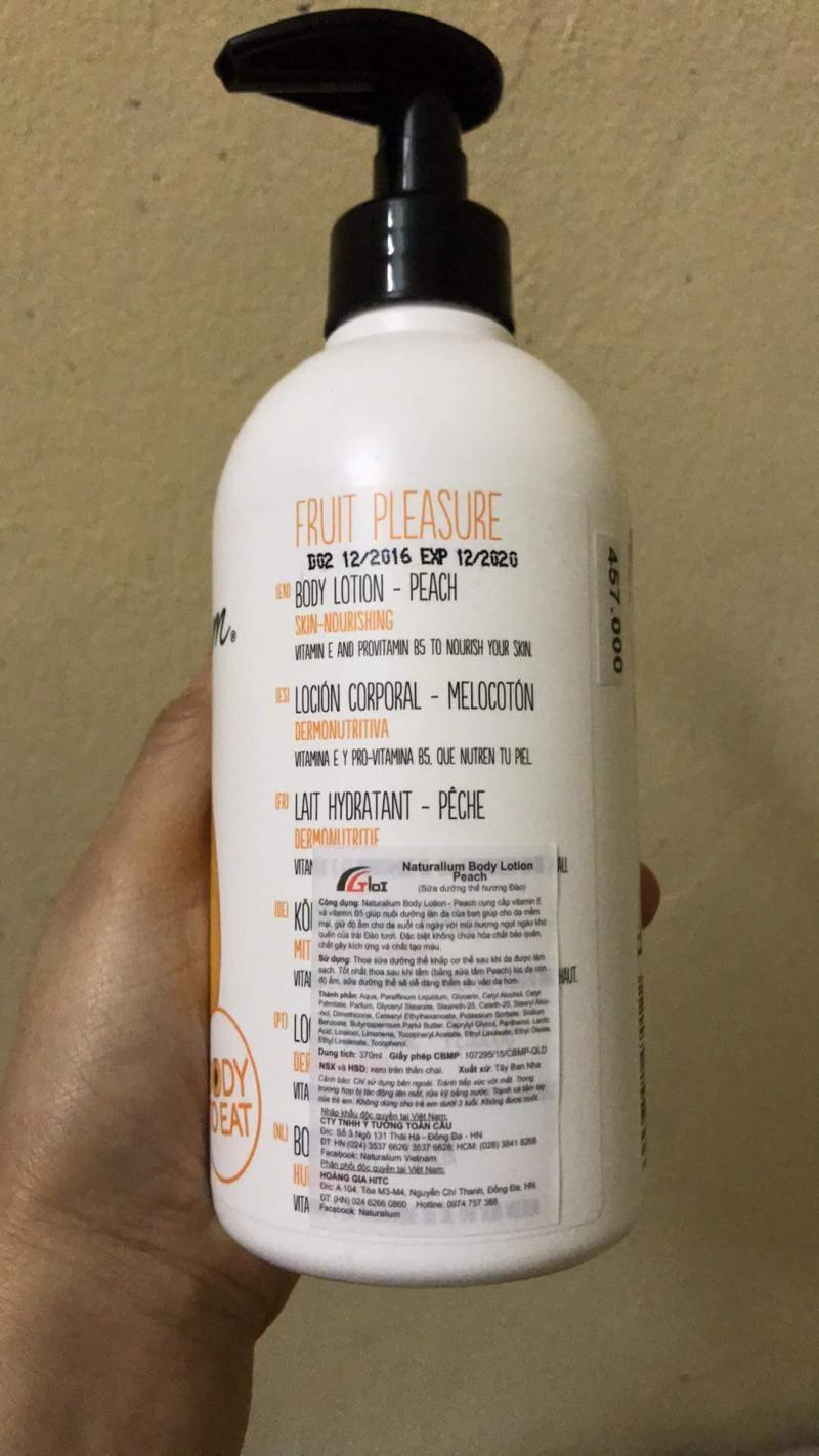 Sữa dưỡng thể (Hàng nhập khẩu chính hãng)