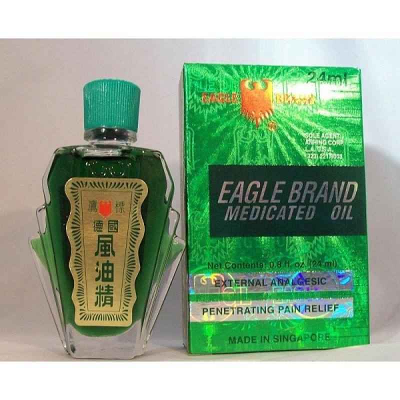 Dầu Gió Xanh Con Ó Eagle Brand 24ml