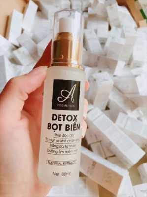 Detox bọt biển thải độc da mặt
