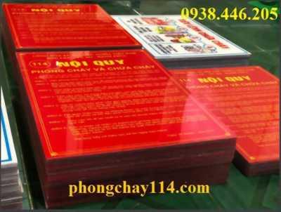 Nội quy tiêu lệnh chất liệu Mica Đài Loan