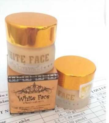 Kem mặt white face siêu dưỡng trắng da thái lan