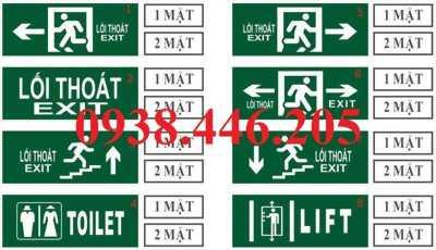 Địa chỉ bán đèn exit giá ưu đãi nhất tại tp HCM, gọi ngay 0938.446.205