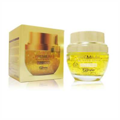 Kem vàng trắng da cao cấp 24k - Benew Premium Whitening Gold Cream
