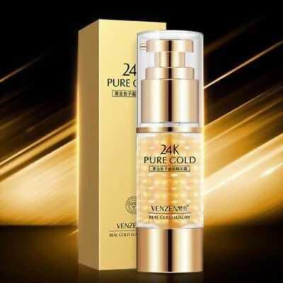 Kem dưỡng vùng da mắt giúp làm căng da tính chất vàng 24K hiệu VENZEN
