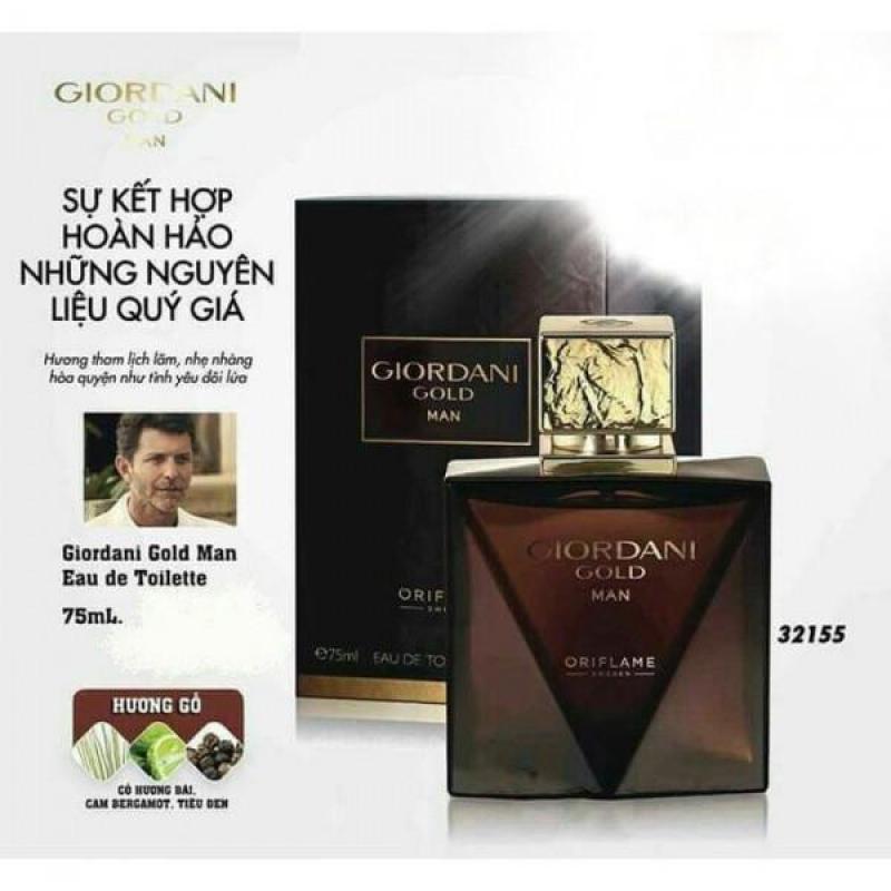 Bộ sản phẩm hương nước hoa nam tạo sự lôi cuốn mạnh mẽ Giordani 225ml