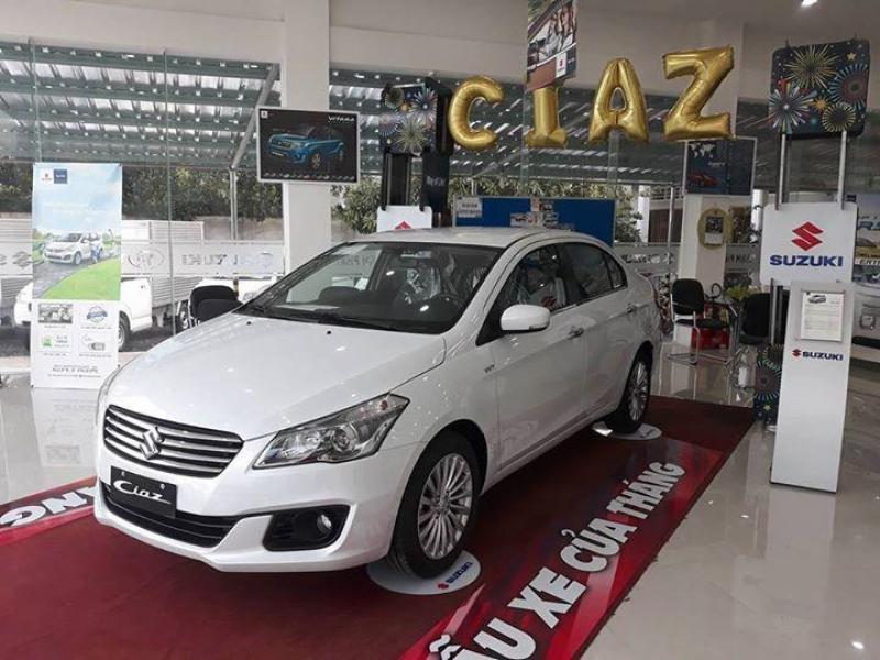 Xe 5 chỗ Suzuki Ciaz khuyến mãi 70.000.000VNĐ
