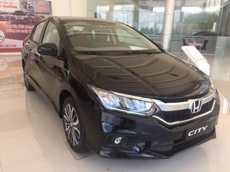 Honda City CVT V 2017 mới 100% tại Gia Nghĩa
