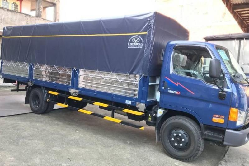 Xe tải huyndai hd120sl tải trọng 8 tấn thùng dài 6m3