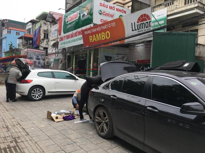 Cốp điện thế hệ 2 cho xe BMW serier 5 tại Rambo - Hà Nội
